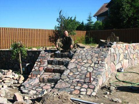 Budownictwo Z Kamienia łupanego,kamień Polny , Kamieniarstwo , Brukarstwo ,grille  5